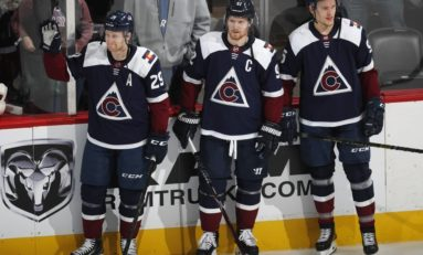 Avalanche's Reunited Top Line Erupts to Beat Blues 8-0