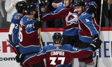 Avalanche Sign J.T. Compher to 4-Year Deal