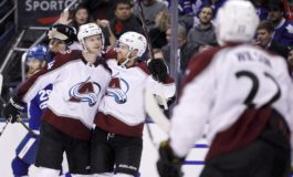 Avalanche Bury Maple Leafs - Soderberg With Hat Trick
