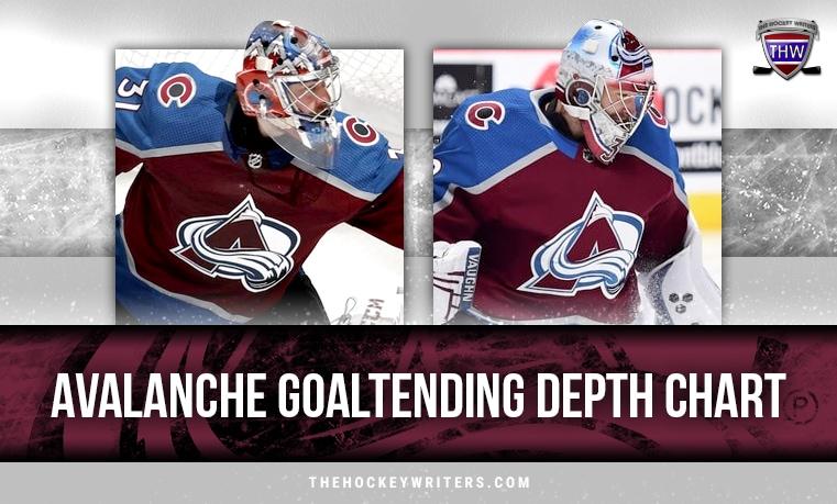 Colorado Avalanche Philip Grubauer Pavel Francouz Avalanche Goaltending Depth Chart