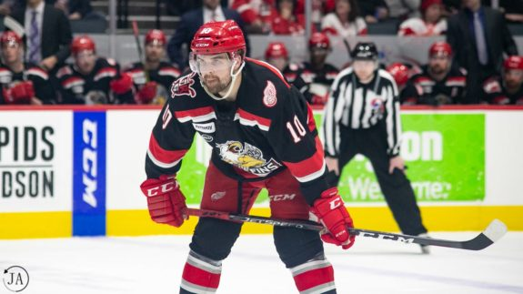 Axel Holmstrom Grand Rapids Griffins