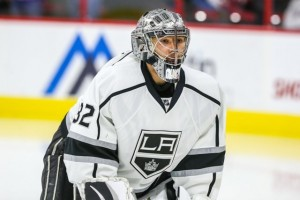Quick has won two Stanley Cups in the starting role with the Los Angeles Kings. (Andy Martin Jr.)