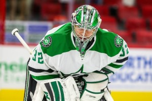 Will Lehtonen help Dallas win in the postseason? (Photo By: Andy Martin Jr)