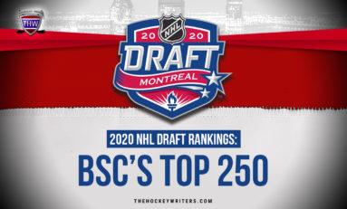 2020 NHL Draft Rankings: BSC's Top 250