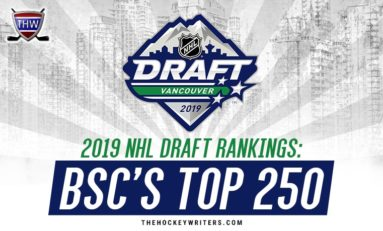 2019 NHL Draft Rankings: BSC's Top 250