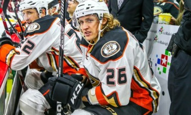 Hagelin Still Learning to Fly with Ducks