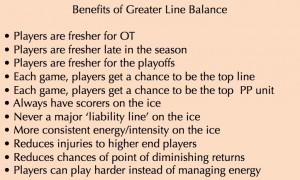 Balance benefits