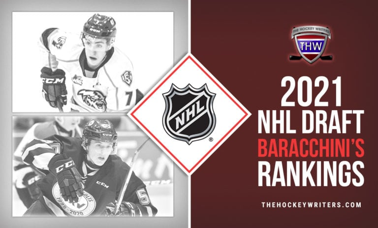 Brandt Clarke and Carson Lambos 2021 NHL Draft Baracchini's Rankings