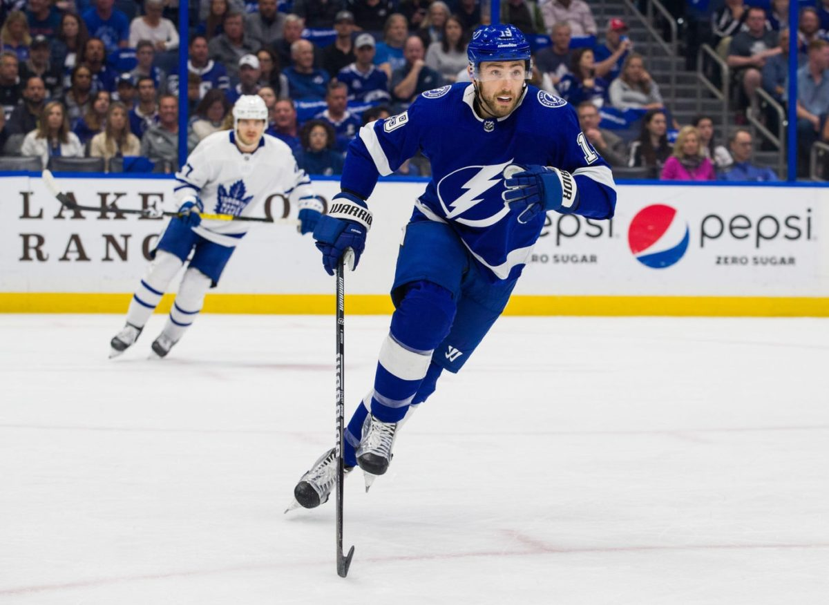 Barclay Goodrow Tampa Bay Lightning
