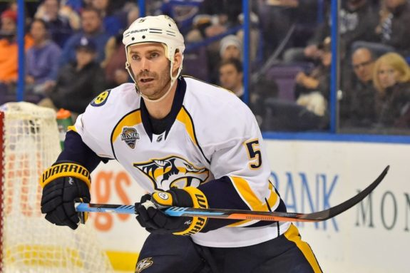 Barret Jackman, Nashville Predators