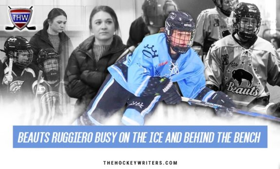 Beauts Ruggiero Busy On the Ice and Behind the Bench