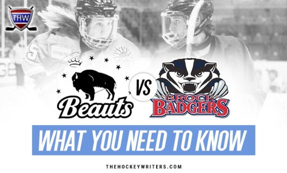 Buffalo Beauts vs. Brock Badgers What You Need to Know