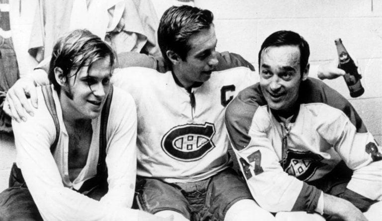 Montreal Canadiens Jean Beliveau Ken Dryden Frank Mahovlich