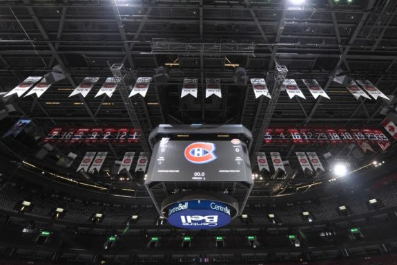 Canadiens Banners Bell Centre