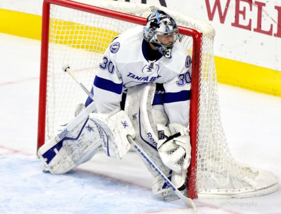 Ben Bishop Tampa Bay Lightning