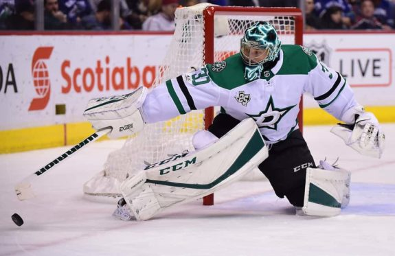 Dallas Stars goaltender Ben Bishop