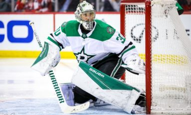 Stars Have Jennings Trophy Candidates in Khudobin & Bishop
