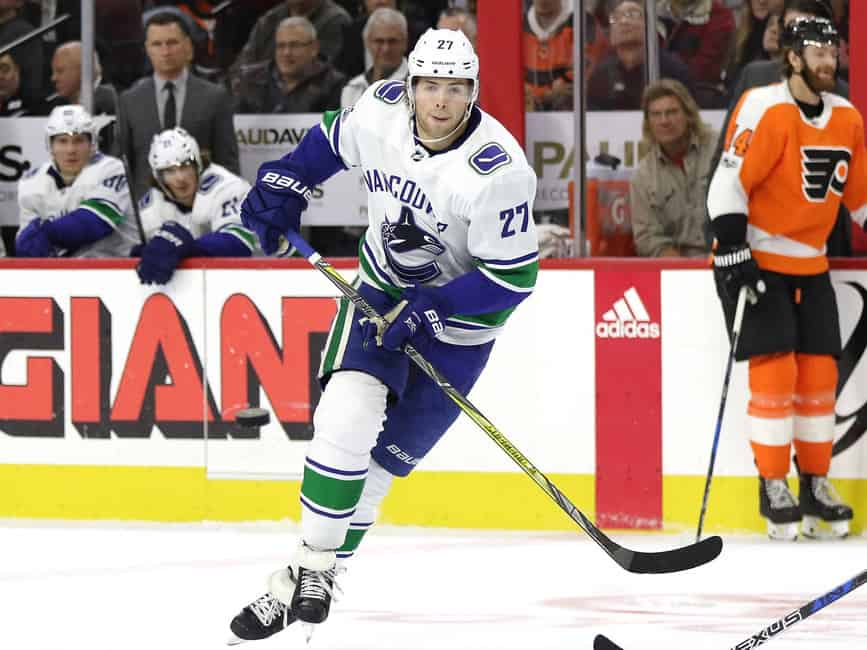 e42d86fe4 Vancouver Canucks  Can Ben Hutton Bounce Back Next Season