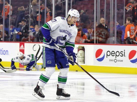 Ben Hutton Vancouver Canucks