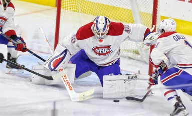 Ben Scrivens Providing A Crucial Spark To Montreal's Fading Playoff Hopes