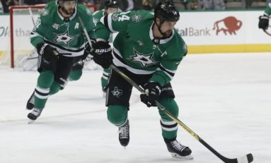 Stars' Benn Serves as Silver Lining of Game 2 Loss