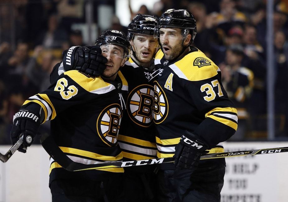 68a5da4bf34f65 Boston Bruins | Breaking Down Bergeron's Home-Opening Hat Trick