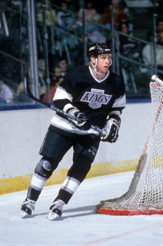 Bernie Nicholls Los Angeles Kings