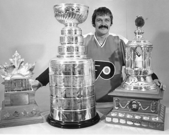 Bernie Parent Philadelphia Flyers 1975