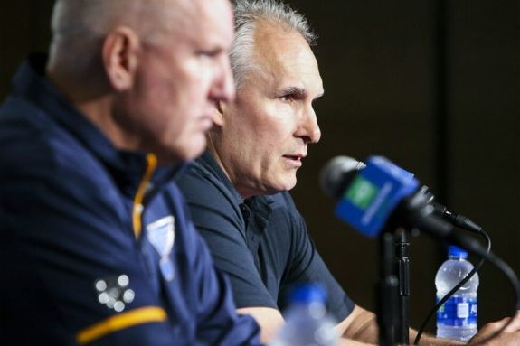 St. Louis Blues Craig Berube Doug Armstrong