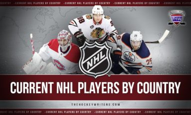 NHLers by Country: On Top of Their Game and the World