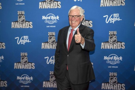 (Joshua Dahl-USA TODAY Sports) Bill Foley, owner of the Vegas Golden Knights, has boldly stated that his team will win the Stanley Cup within its first six seasons of existence.
