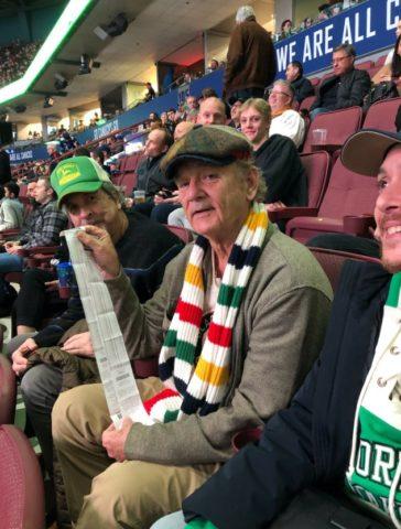 Bill Murray Vancouver Canucks
