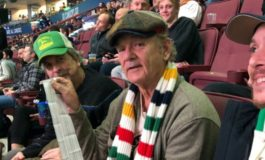 Bill Murray Shows up to Vancouver Canucks Game with Peter Farrelly