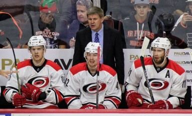 Hurricanes Peters Preaches Pace