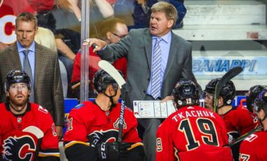 Flames' Coach Peters Balances Toughness &  Motivation