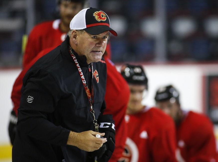 Bill Peters Calgary Flames