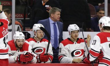 Hurricanes' Peters Failing Upward?