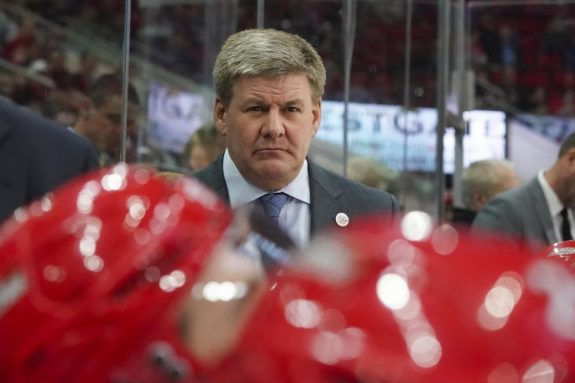 Bill Peters Carolina Hurricanes