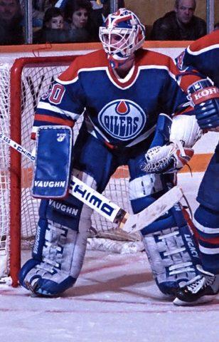 Bill Ranford Edmonton Oilers