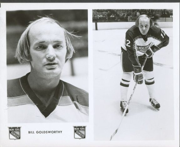 Bill Goldsworthy New York Rangers