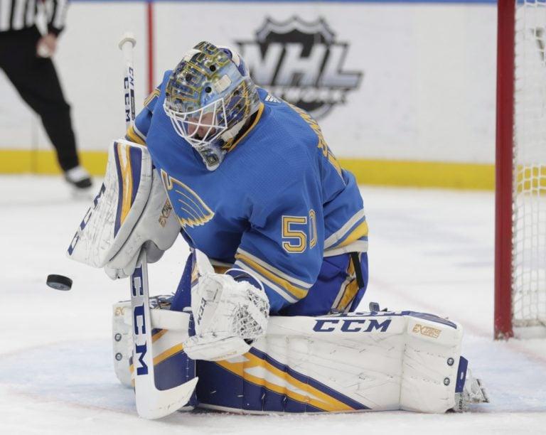 St. Louis Blues Jordan Binnington