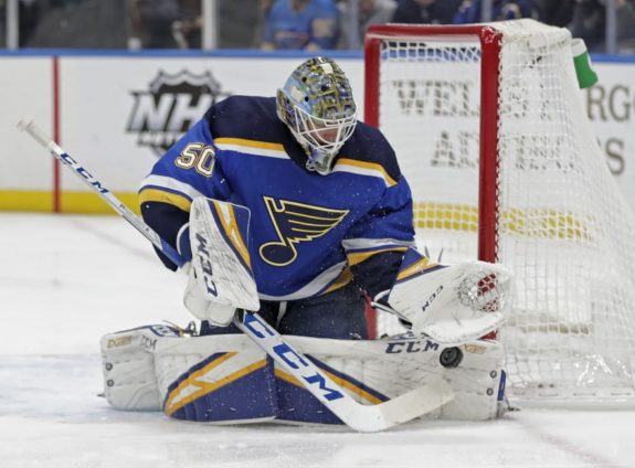St. Louis Blues Jordan Binnington