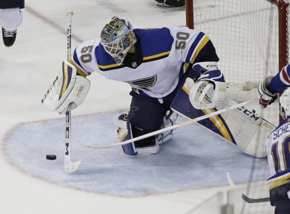 St. Louis Blues' Jordan Binnington