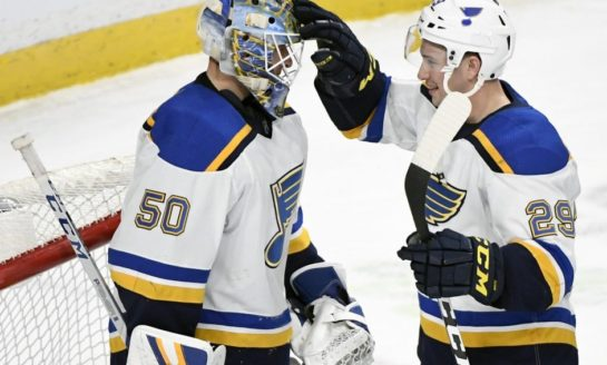 Blues Whip Wild With 3rd Straight Shutout