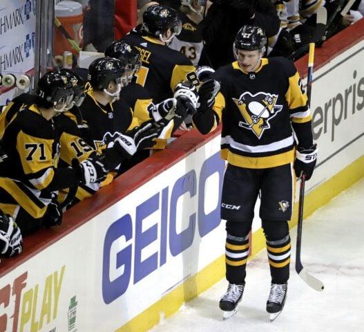 Pittsburgh Penguins' Nick Bjugstad