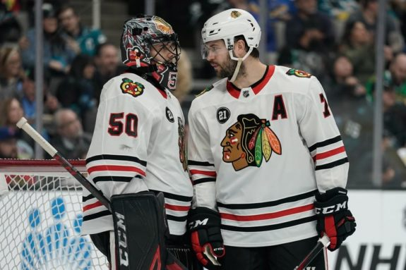 Chicago Blackhawks Corey Crawford Brent Seabrook