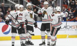 Blackhawks Down Oilers With 5 Third-Period Goals