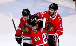 Blackhawks Outshine Stars - Kane & Ward Lead