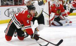 Golden Knights Beat Blackhawks - Theodore Gets OT Winner