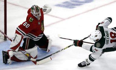 Blackhawks Beat Wild - Kane Nets Hat Trick